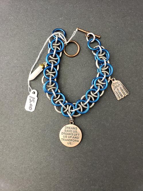 Chain Mail Superman Bracelet