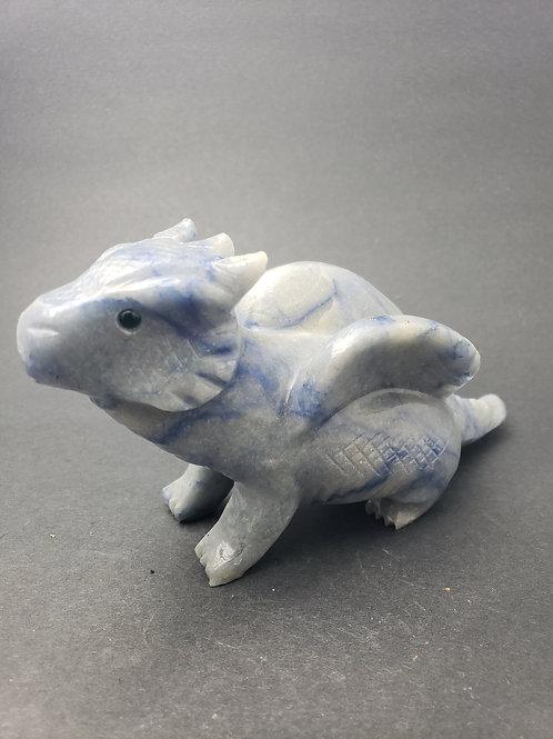 Blue Aventurine Dragon