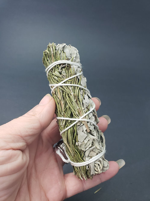 Rosemary & White Sage Smudge Bundle