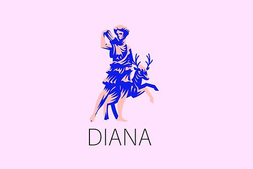 DIANA - Grapefruit,  Bergamot, Thyme, White Tea, Nutmeg, Rose, Honey, Jasmine
