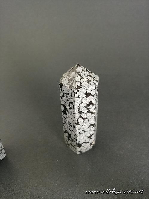 Snowflake Obsidian Tower