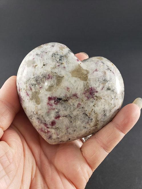 Rubellite Heart