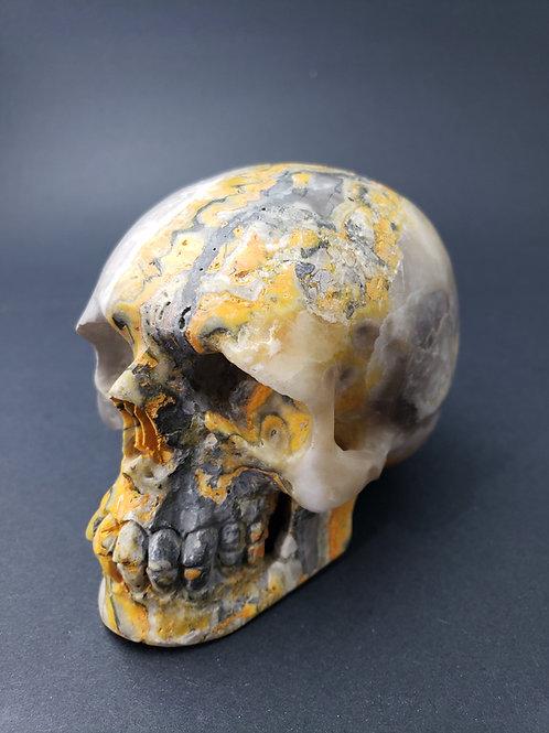 Bumblebee Jasper Skull