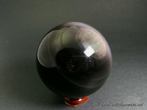 Rainbow Obsidian Sphere