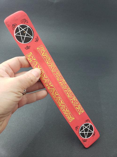 Pentacle Stick Incense Burner