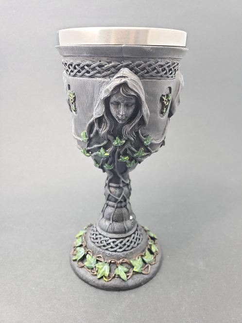 Triple Goddess Goblet