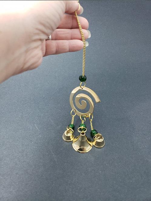Fibonacci Spiral Bell