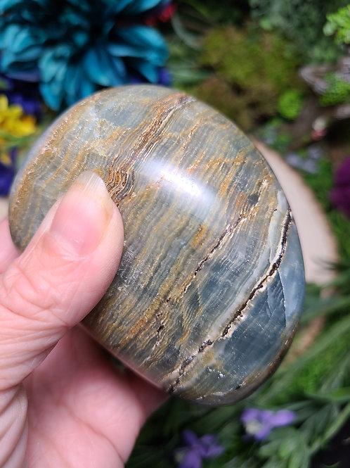 Aquatine Lemurian Calcite Freeform