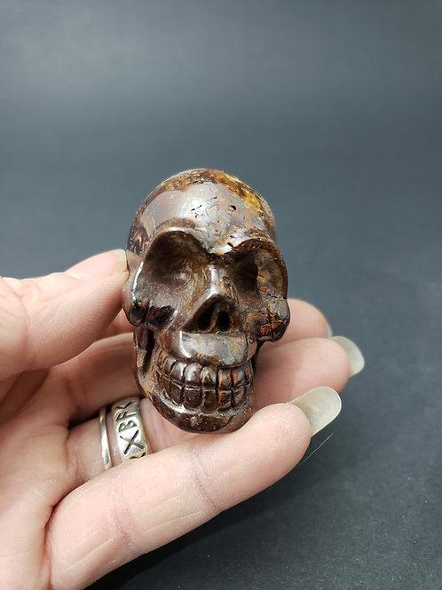 Koroit Boulder Opal Skull