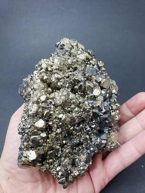 Pyrite over Galena Cluster