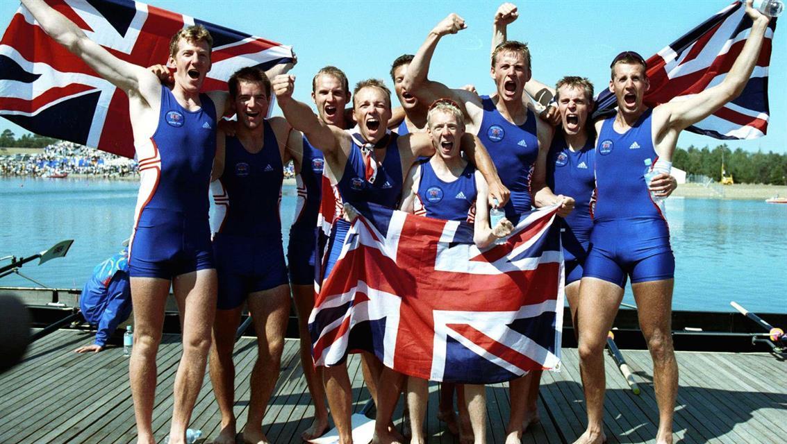 2000 Sydney Olympics - Men's 8+ Gold