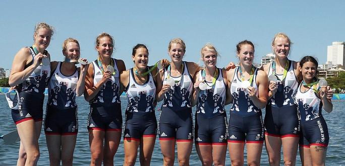 2016 Rio Olympics - Women's 8+ Silver