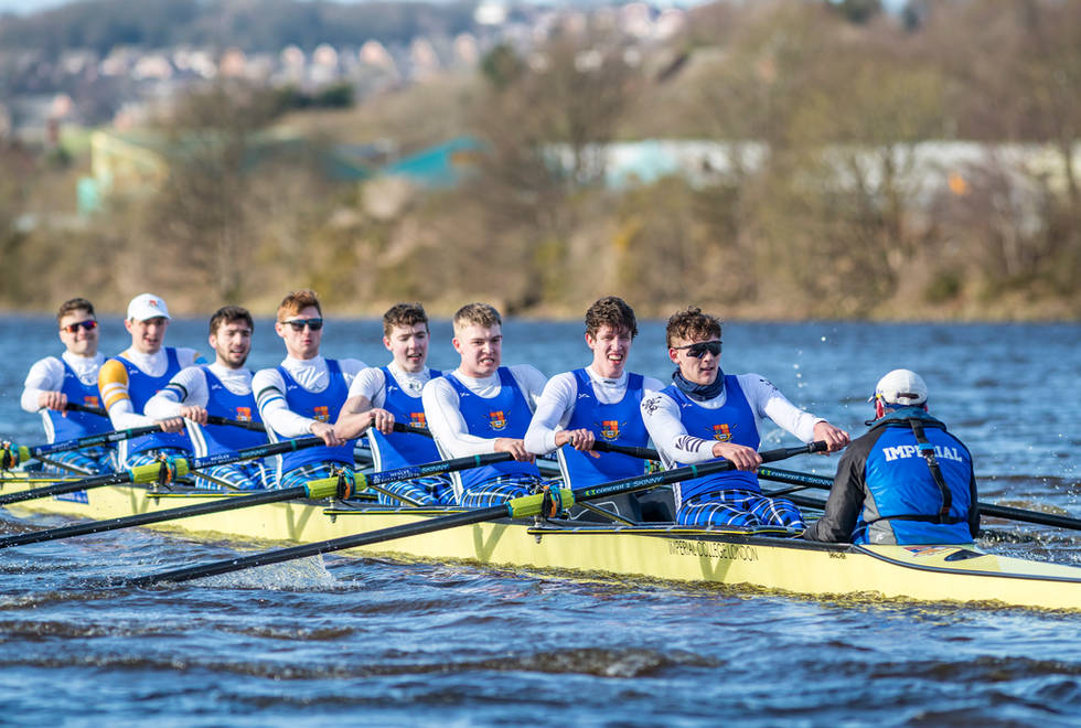 M8+ winning Championship 8s at BUCs Head