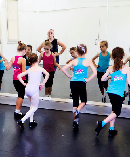 Level 1 & 2 Tap ages 5-6yrs