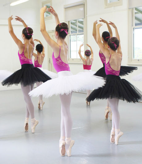 Advanced 1 & 2 Ballet ages 13+