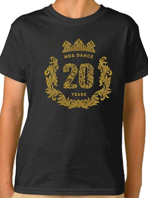 MDA 20 YEARS Glitter T-shirt