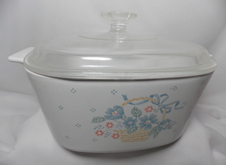 The Corningware Lady