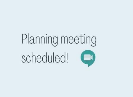 Planning meeting scheduled!