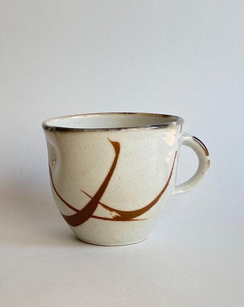 Taza shino gris
