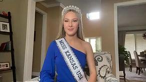#ReadforAMoM Miss Kansas USA Hayden Brax