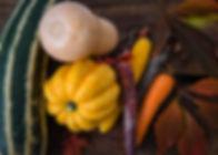 Pumpkin Spinach Feta Tart
