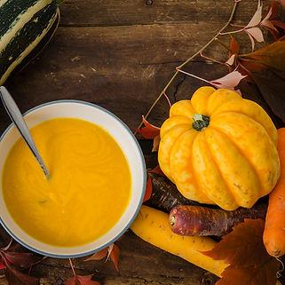 Coconut Pumpkin Soup