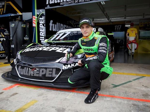 Guilherme Salas é natural de Jundiaí e estreou no kartismo em 2001 (Foto: Divulgação)