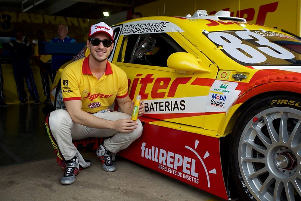 Gabriel Casagrande está indo para a quarta temporada na Stock Car (Foto: Divulgação)