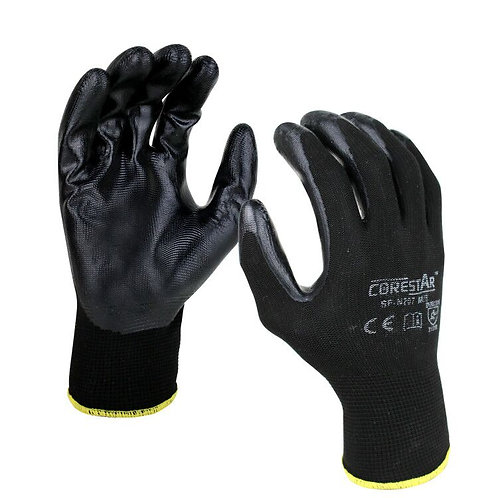 CoreStar Multi Purpose Nitrile Knitted Gloves SF-N207