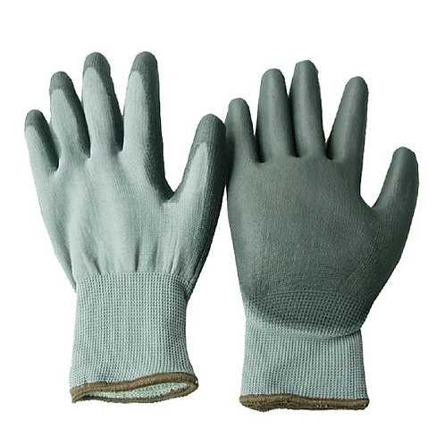 Double Layer Handsewn Cold Resistant Glove coated PU on Palm