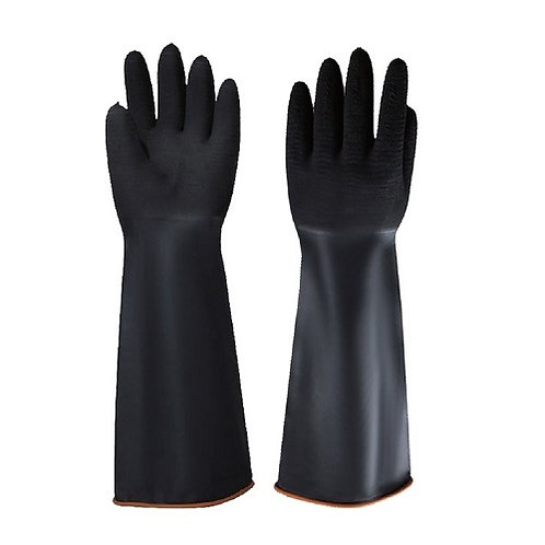 Heavy-Duty Latex Industrial Glove, Rough Palm