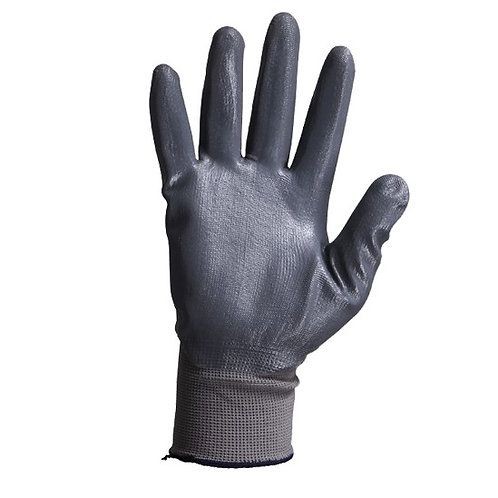 13G Nylon/Polyester Glove coated Nitrile Foam on Palm