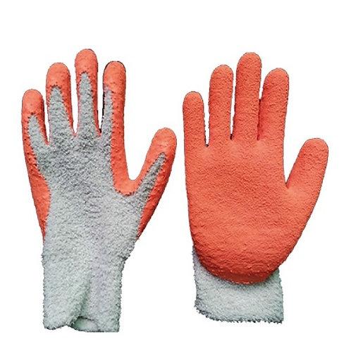 13G  Velvet Glove coated Latex Foam on Palm