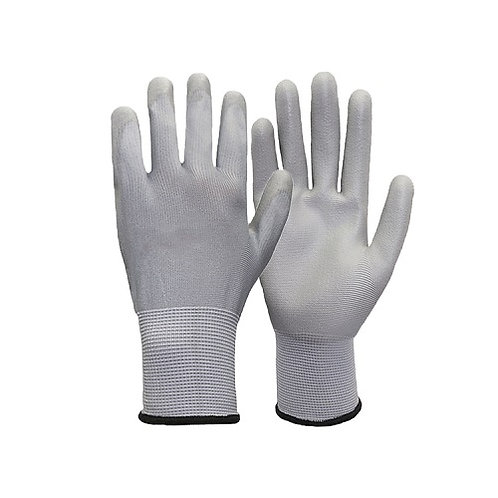 13G Nylon/Carbolic Fiber Glove coated PU on Palm