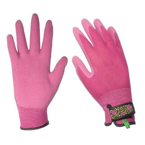13G Bamboo Fiber Garden Glove coated Latex Foam on Palm