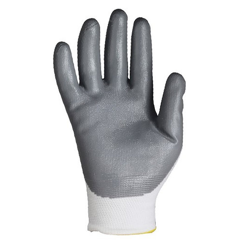 13G Nylon/Polyester Glove coated Nitrile on Palm