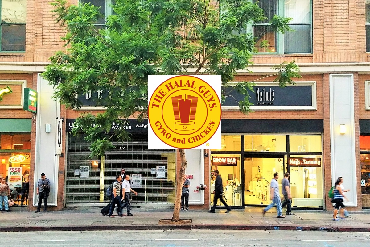 The Halal Guys in DTLA