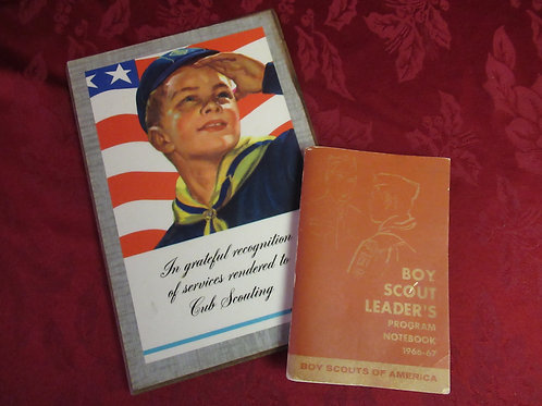 Vintage Boy Scout Collectibles