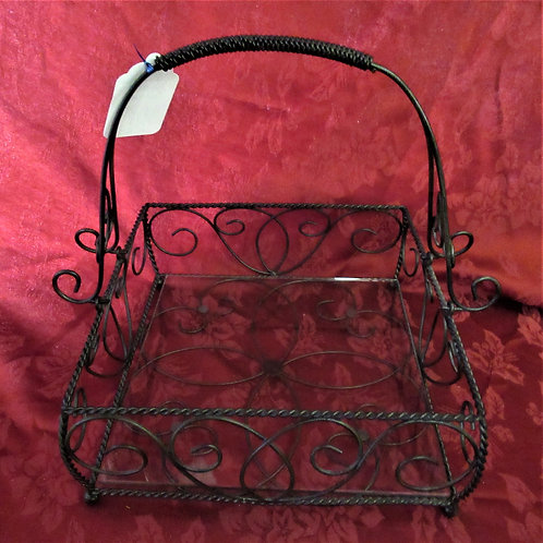 Southern Living Home Alexandria Metal Basket