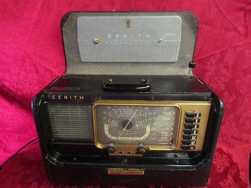 1950's Zenith Wavemagnet Transoceanic Radio