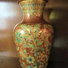 Handpainted Porcelain Vase