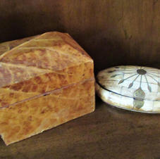 Leaf Art Box & Bone Art Box