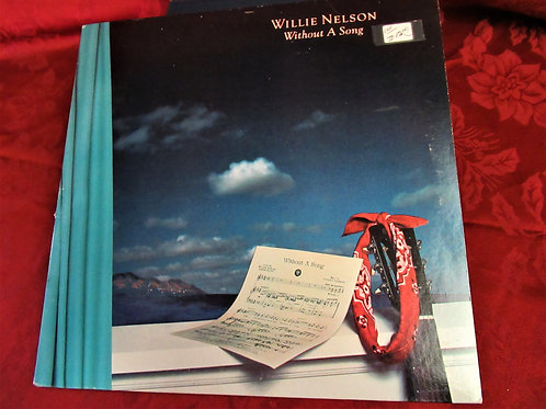 1983 Willie Nelson LP- Without A Song
