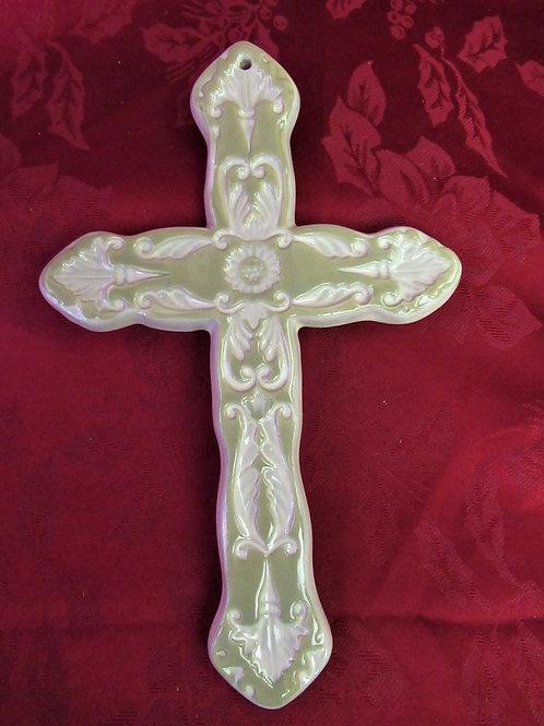 Cathie Robinson Design Porcelain Cross
