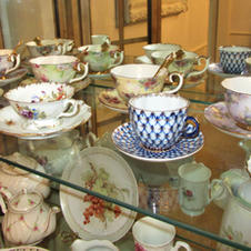 Teacup Collection, Russian, English, German, Etc