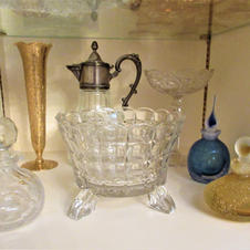 Perfume Decanters & Other Glassware