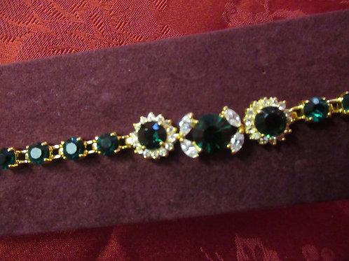 Premium Emerald Green Bracelet