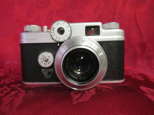 1950's Argus C-four Camera with Leather Case