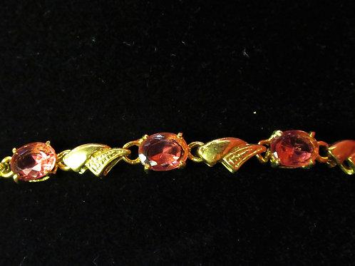 Orchid Ruby Topaz Bracelet