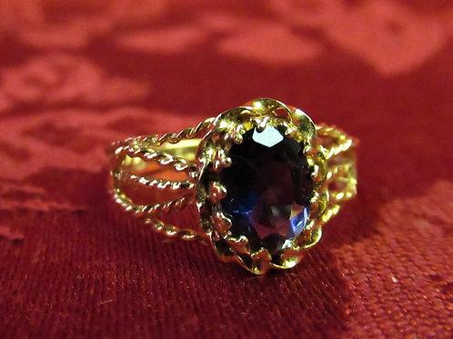 Filgree Amethyst Ring